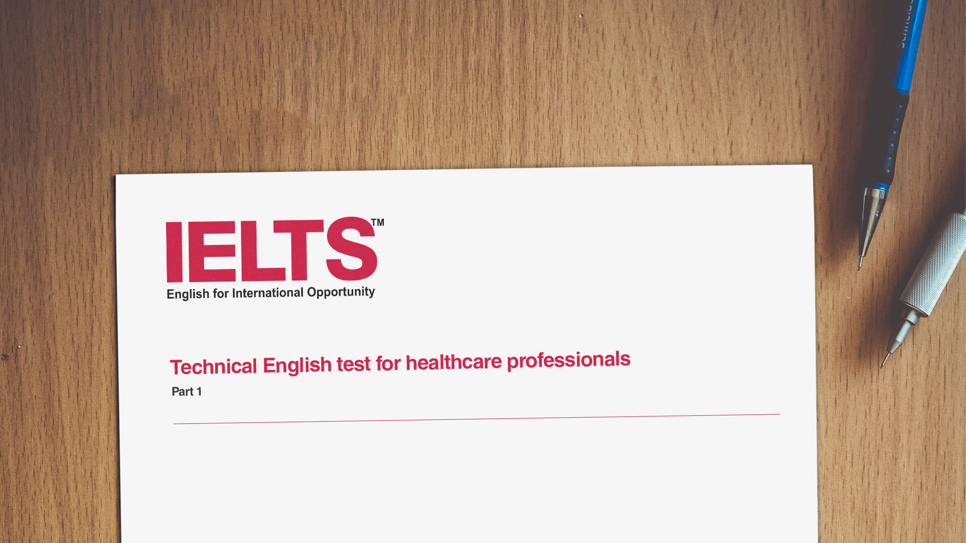 IELTS for Healthcare Professionals