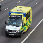 An ambulance in the UK